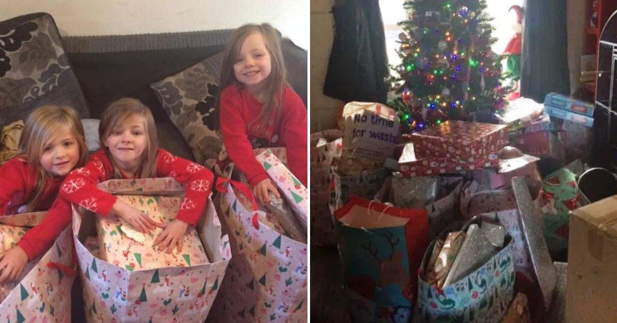 katrina5.png?resize=300,169 - Sept enfants dont la mère est décédée avant Noël ont reçu une énorme pile de cadeaux de gentils étrangers