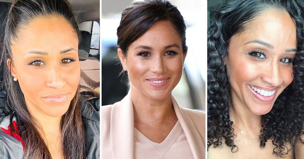 meghan markle lookalike.jpg?resize=1200,630 - Meghan Markle's Lookalike Says She's Always Up For Attending Events On Behalf Of The Duchess Of Sussex