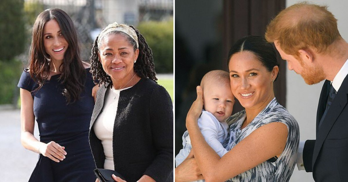 meghan5.png?resize=1200,630 - Meghan Markle Has Mom's Full Support After Being 'Miserable, Having Anxiety Attacks And Struggling After Archie's Birth'