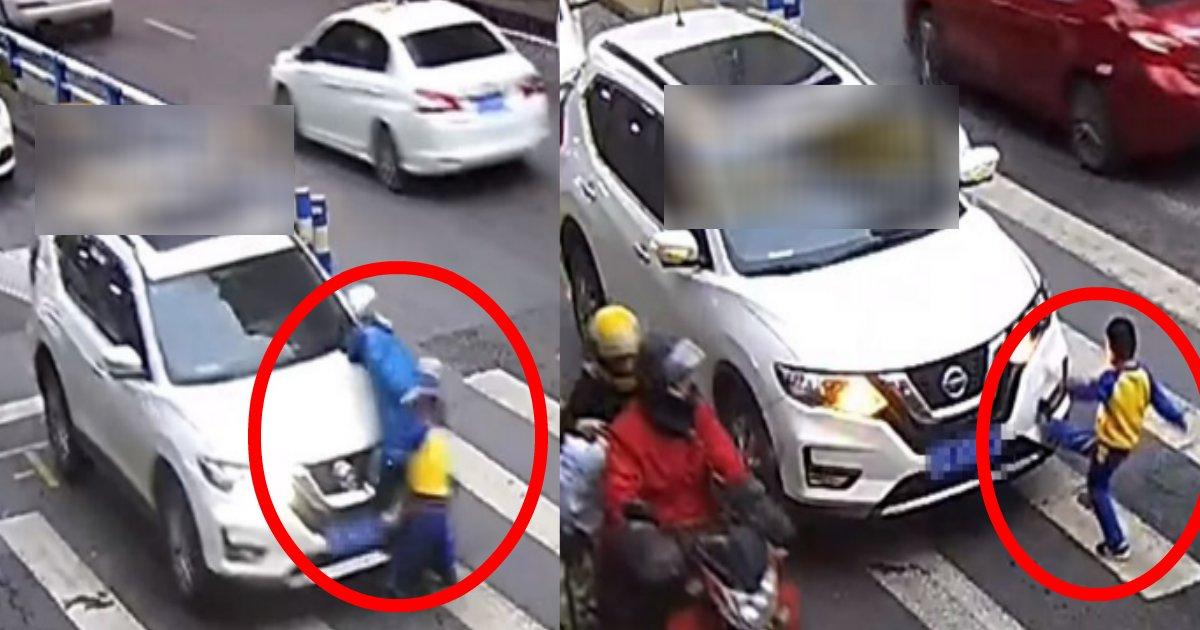 musuko.png?resize=1200,630 - 母親が目の前で交通事故に遭いブチ切れた幼い息子の行動が勇敢すぎる?