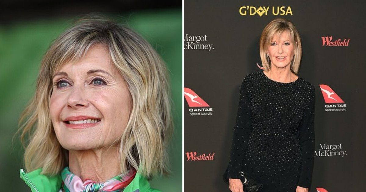 olivia6.png?resize=1200,630 - Olivia Newton-John Revealed That Her Tumors Have Shrunk After Using Natural Remedies And Medicinal Cannabis