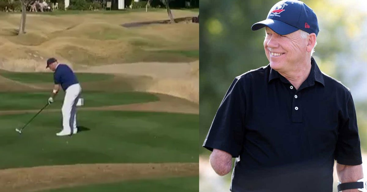 one armed golfer laurent hurtubise hit a wonderful hole in one at pga tour event.jpg?resize=1200,630 - One-Armed Golfer, Laurent Hurtubise, Hit A Wonderful Hole-In-One At A PGA Tour Event