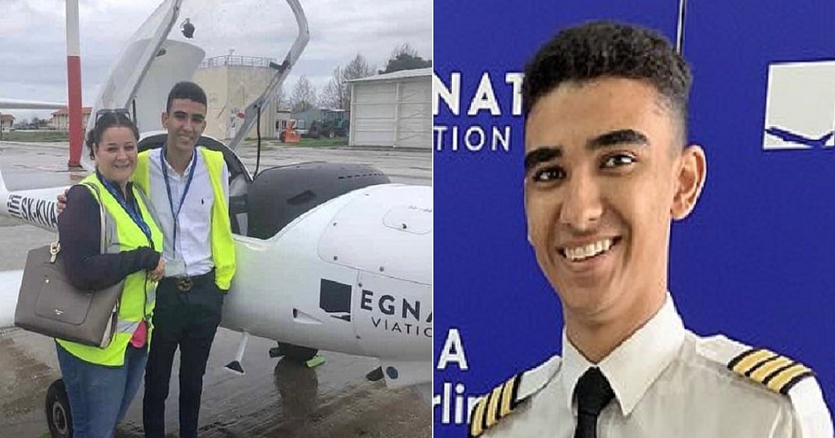 p3 5.jpg?resize=1200,630 - 18-Year-Old Fulfilled His Dream Of Becoming A Licensed Airline Pilot