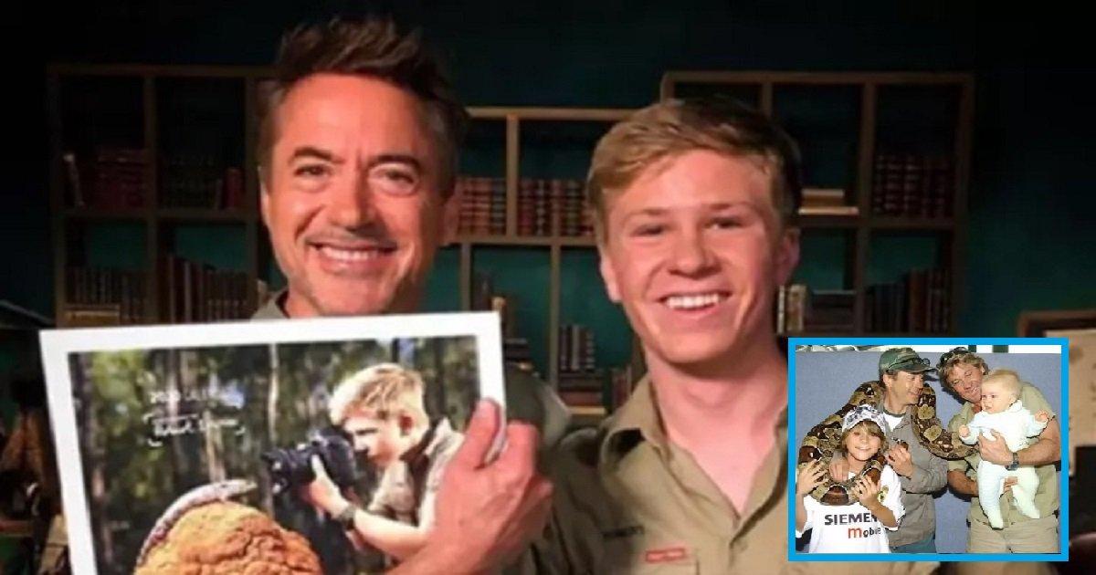 p3.jpg?resize=1200,630 - Robert Downey Jr. Posed With Robert Irwin In Heartwarming 16-Year Reunion Photo