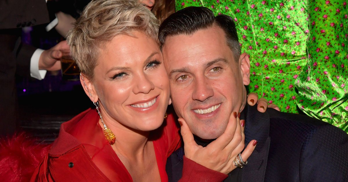 pink and carey hart celebrated their 14th wedding anniversary with a motorcycle ride in ojai.jpg?resize=1200,630 - Pink And Carey Hart Celebrated Their 14th Wedding Anniversary With A Motorcycle Ride