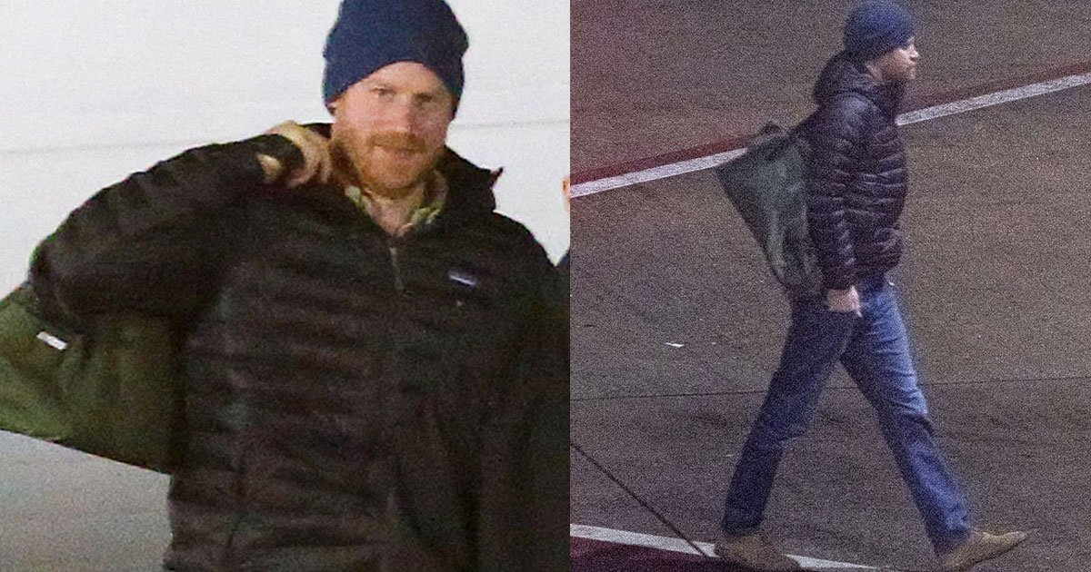 prince harry arrived in canada to join meghan and archie.jpg?resize=300,169 - Prince Harry Arrived In Canada To Join Meghan And Archie