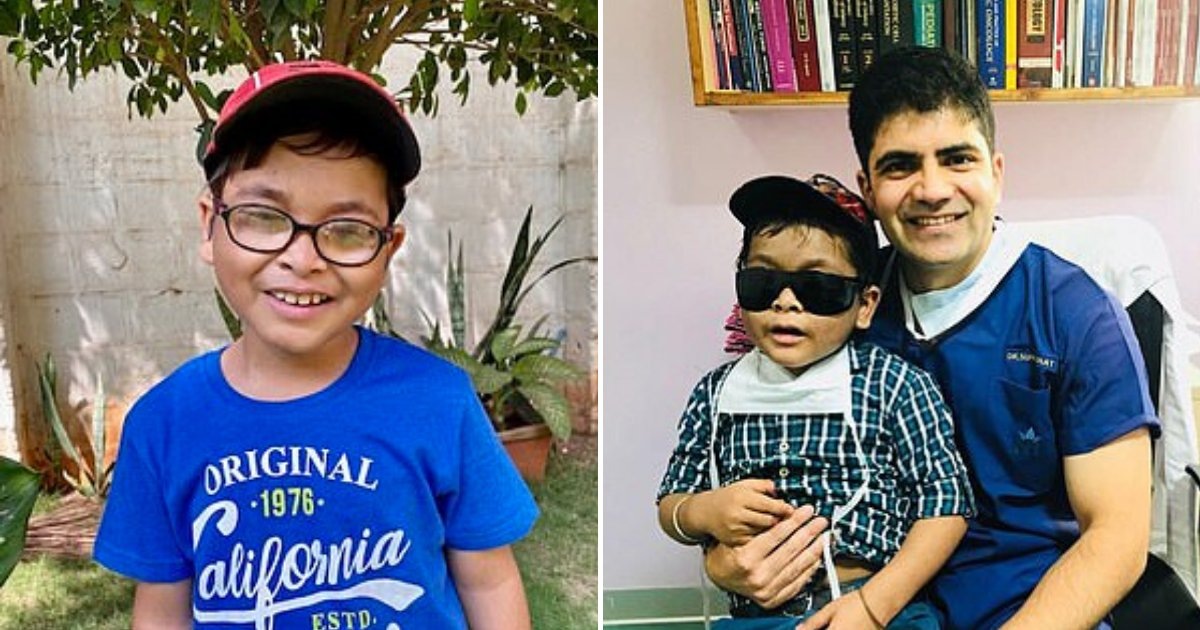 sagar7.png?resize=1200,630 - Boy Whose Eyes Popped Out Due To Rare Condition Can Finally See Again After A Stranger Paid For His Medical Treatment