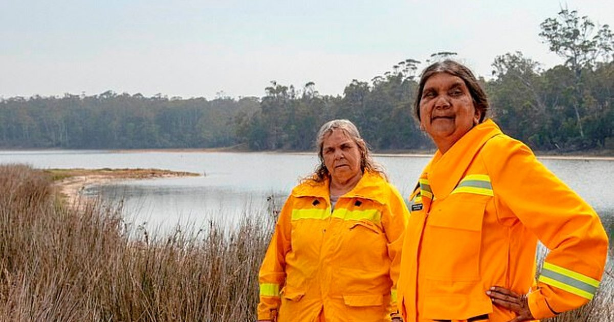 sellings6.png?resize=1200,630 - Meet All-Female Indigenous Firefighters Working 24/7 To Protect Their Community From Blazes In Australia