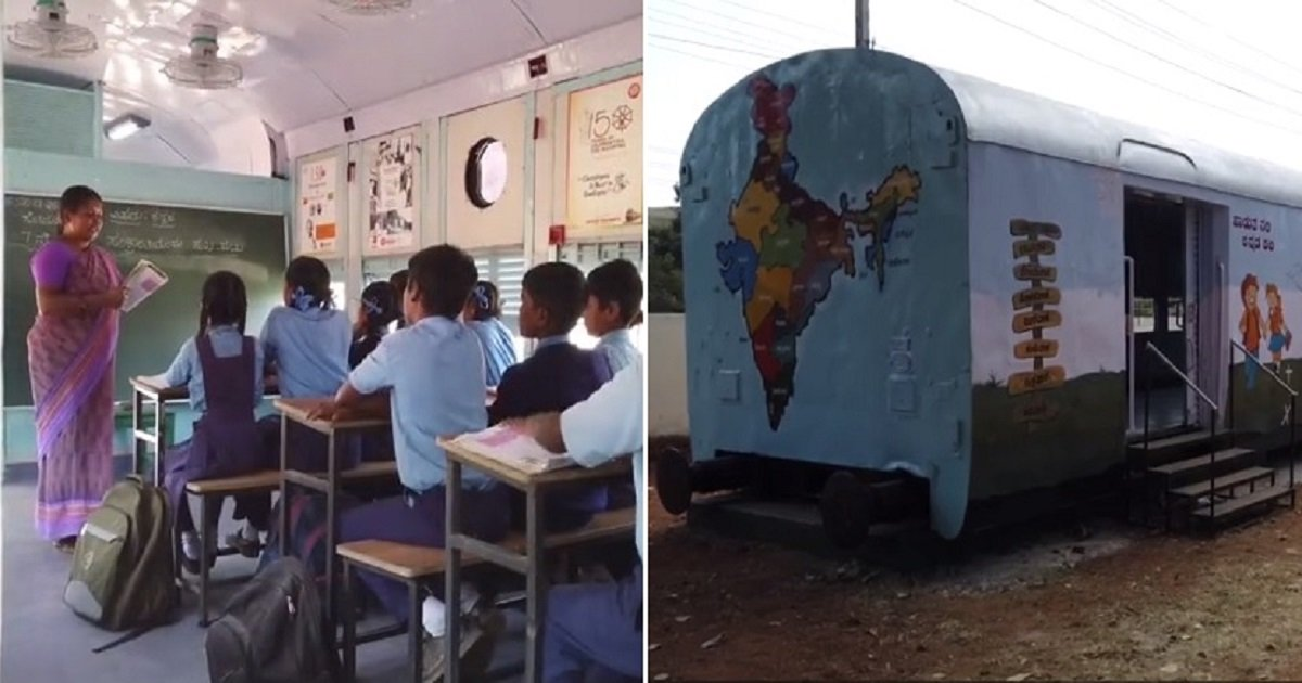 t3 6.jpg?resize=1200,630 - Two Old Trains Transformed Into Classrooms In An Awesome Makeover