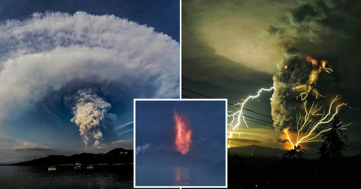 taal11.png?resize=1200,630 - Volcano In Philippines Could Spew Ash And Lava For Weeks, More Than 200 Earthquakes Have Been Recorded
