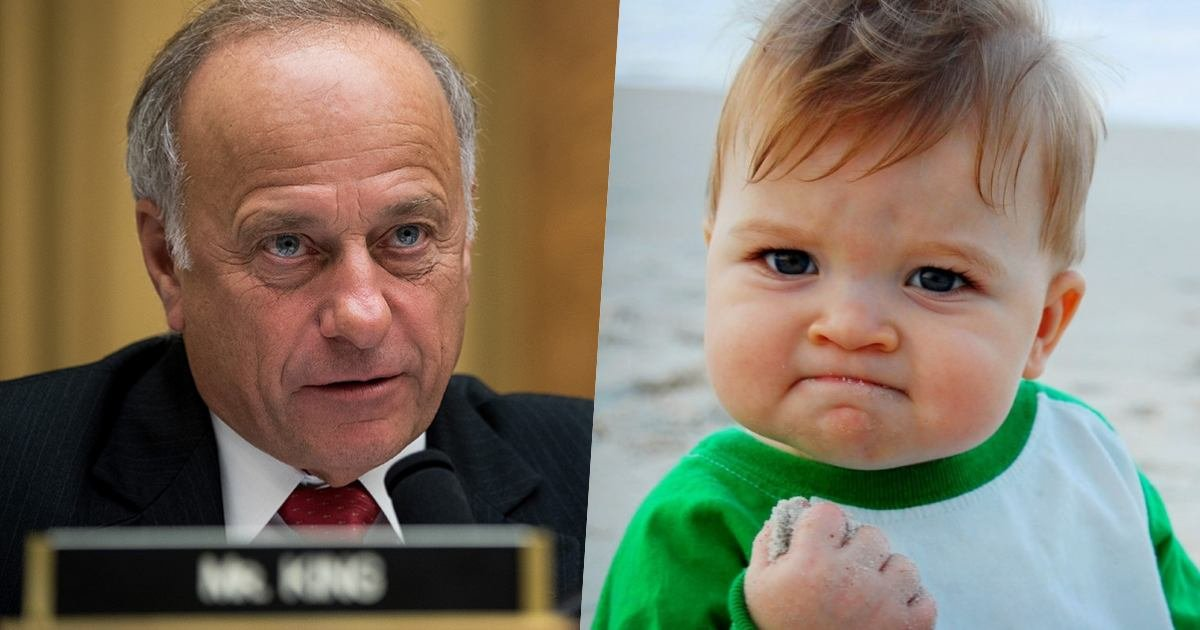 "thumbnail 7.jpg?resize=412,275 - Mother of ""Success Kid"" Meme Threatens To Sue Rep. Steve King For Using Her Son's Photo In A Campaign Ad"
