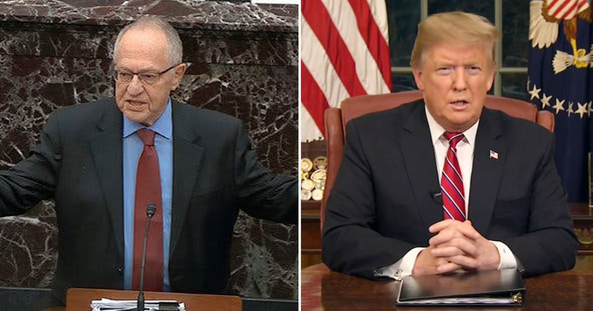 """trump can abuse power to get reelected.jpg?resize=1200,630 - Alan Dershowitz Says """"Abuse Of Power"""" Is Not Impeachable And No President Can Be Impeached For Trying To Get Re-Elected"""
