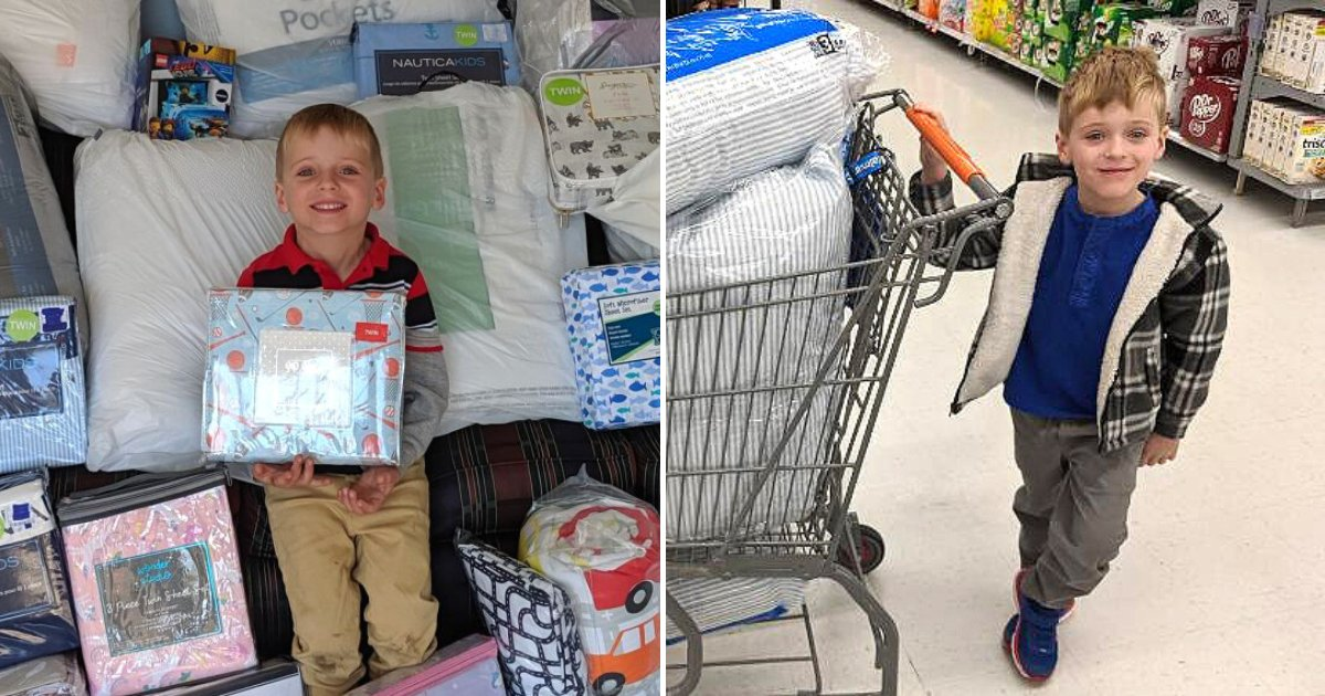 tyler5.png?resize=1200,630 - Young Boy Asked For Bedding Donations As Birthday Gift To Help Children In Need