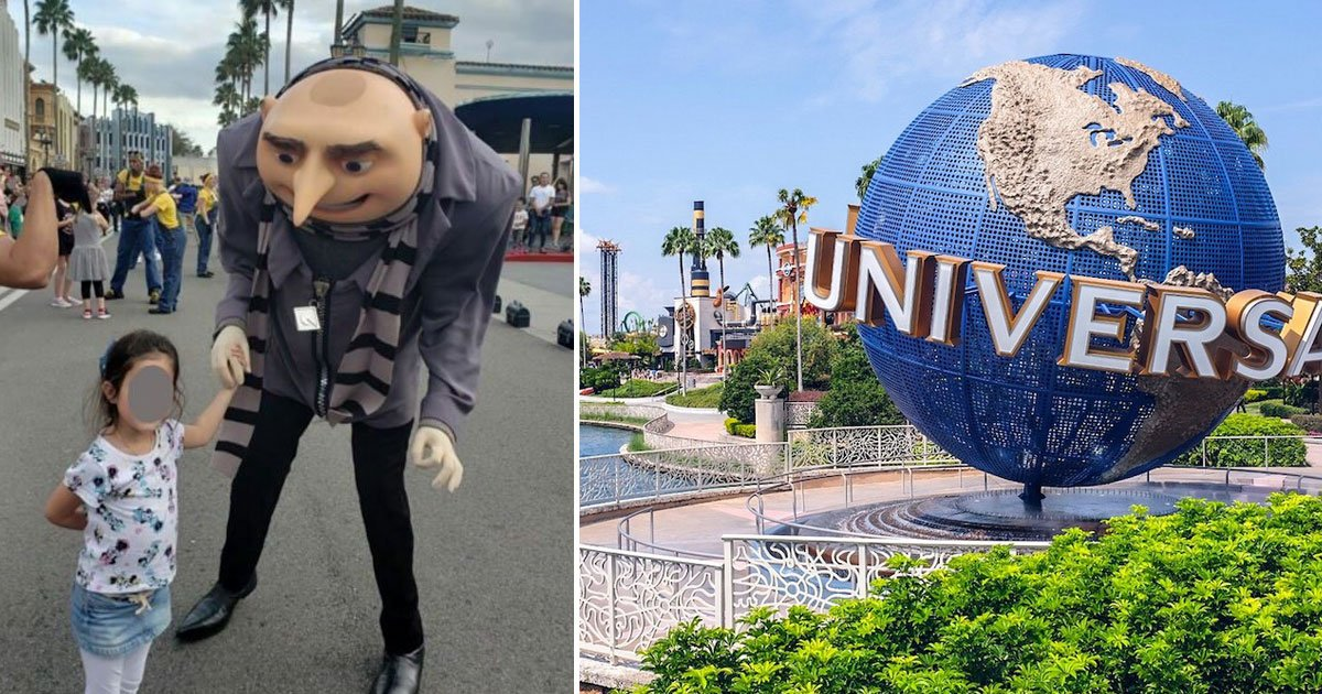 universal orlando worker hand gesture.jpg?resize=412,232 - Family Accused Universal Orlando Actor in Despicable Me Costume of Making an Inappropriate Hand Gesture