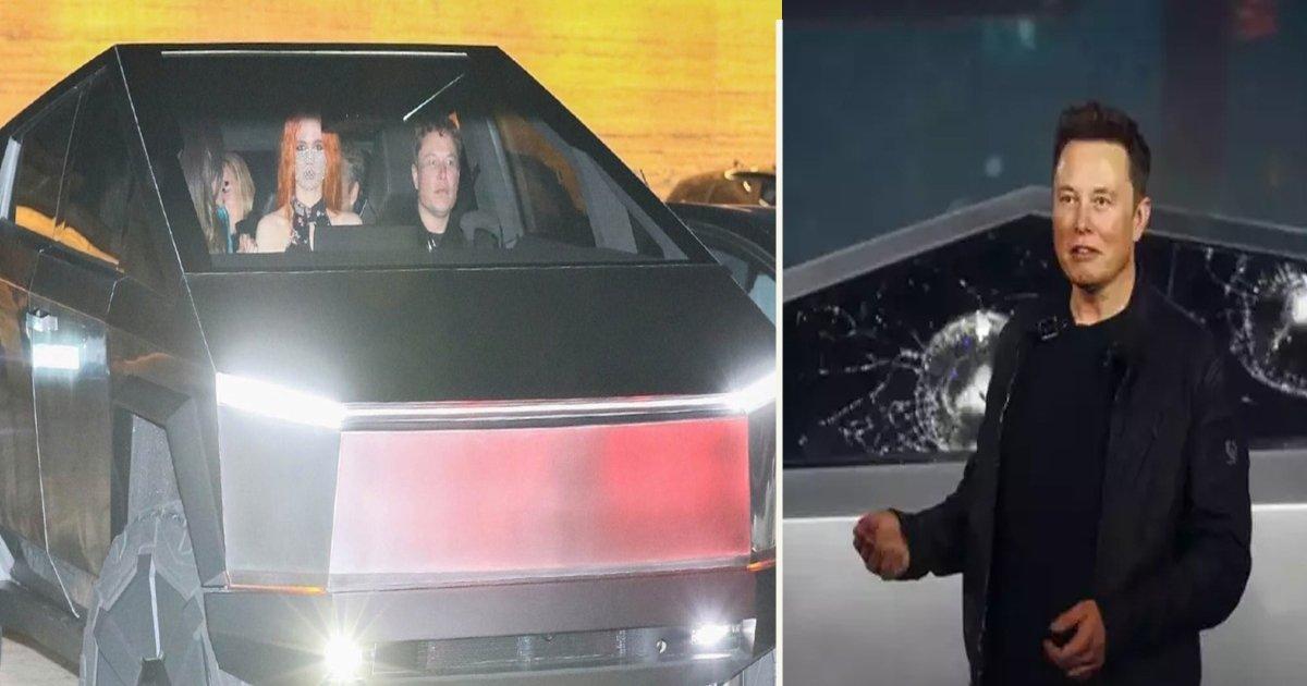 untitled 1 116.jpg?resize=300,169 - Elon Musk repéré dans un de ces cyber-4x4 Tesla à Los Angeles