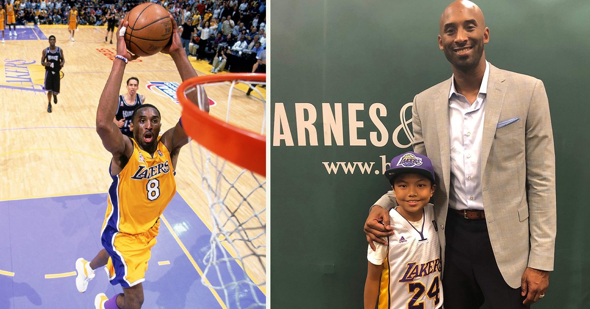 untitled 1 121.jpg?resize=1200,630 - Young Kobe Bryant Once Tracked Down A Family To Give Them His Autograph After They Didn't Have Paper