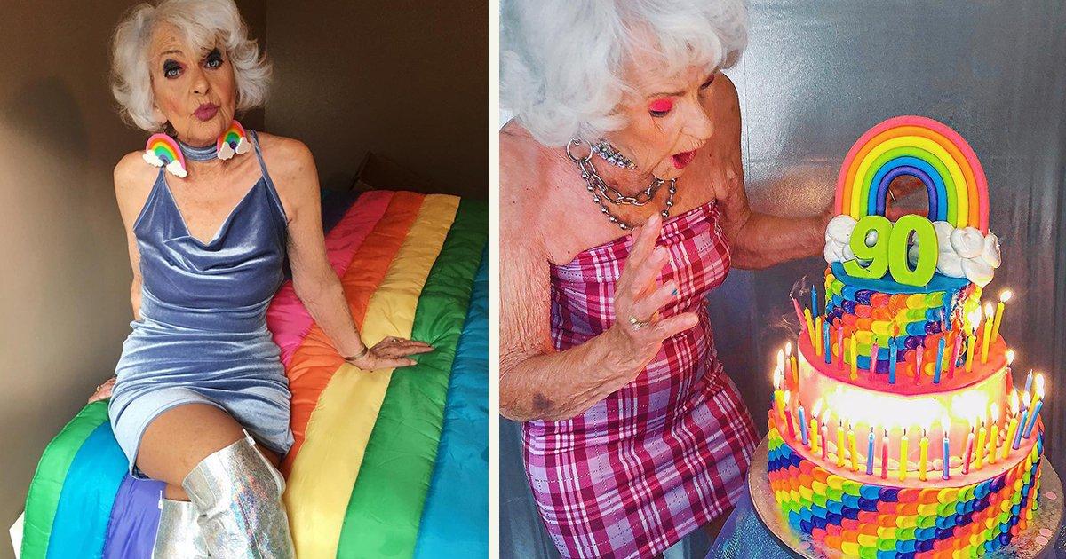untitled 1 139.jpg?resize=1200,630 - A Stylish Grandma Aka Baddie Winkle Is A 92 Year-Old Instagram Star