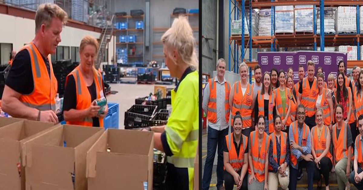 untitled 1 53.jpg?resize=1200,630 - Chef Gordon Ramsay Helped Pack Food For People Affected By The Bushfire
