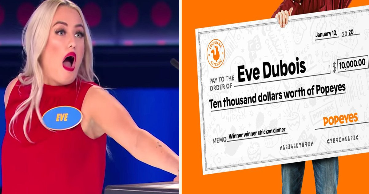 untitled 1 57.jpg?resize=412,232 - Popeyes Offered Family Feud Contestant $10,000 Worth Of Free Food After She Gave The Wrong Answer