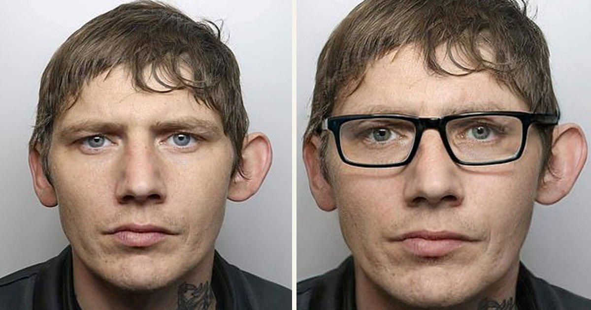 untitled 1 79.jpg?resize=412,232 - Kendini Polislerden Gizlemek İçin Sinsice Bir Plan Yaparak Gözlük Takan Hırsız
