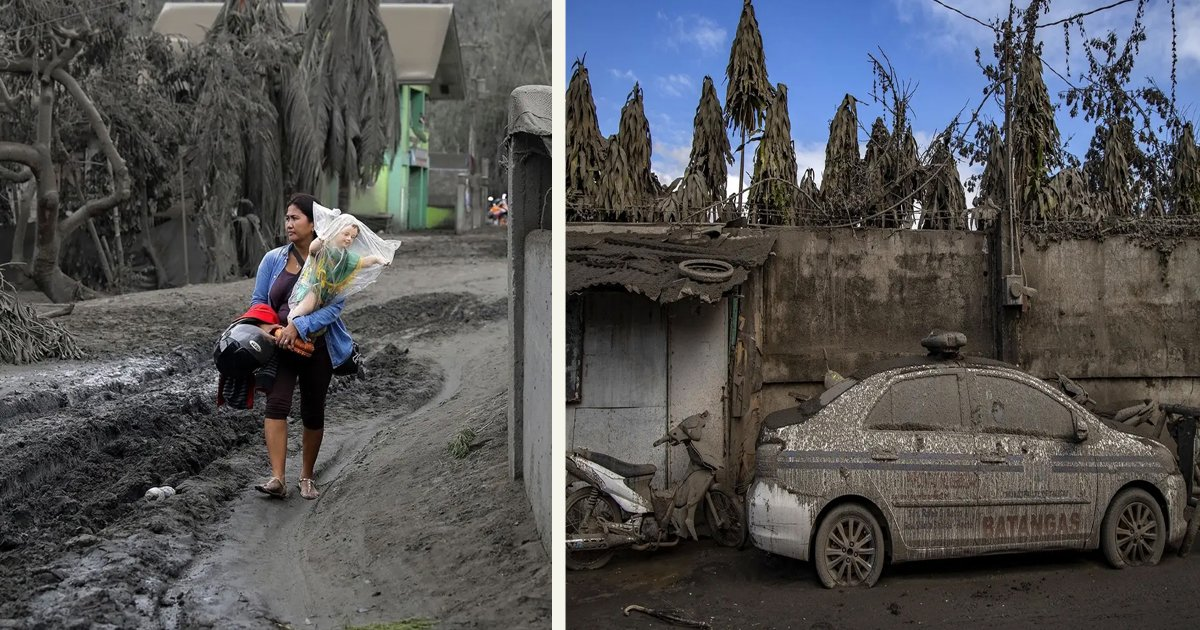 untitled 4 3.jpg?resize=1200,630 - Taal Volcano Covered Parts Of The Philippines In A Thick Layer Of Ash