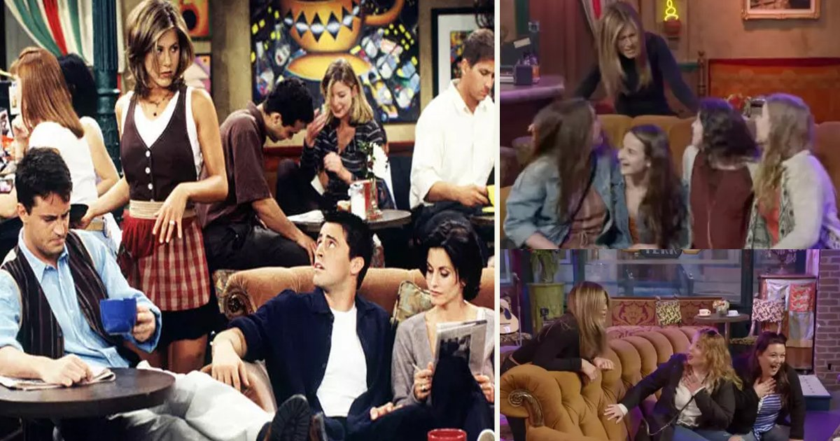 untitled 4 5.jpg?resize=1200,630 - Jennifer Aniston Surprised Fans Visiting The Warner Bros Friends Studio