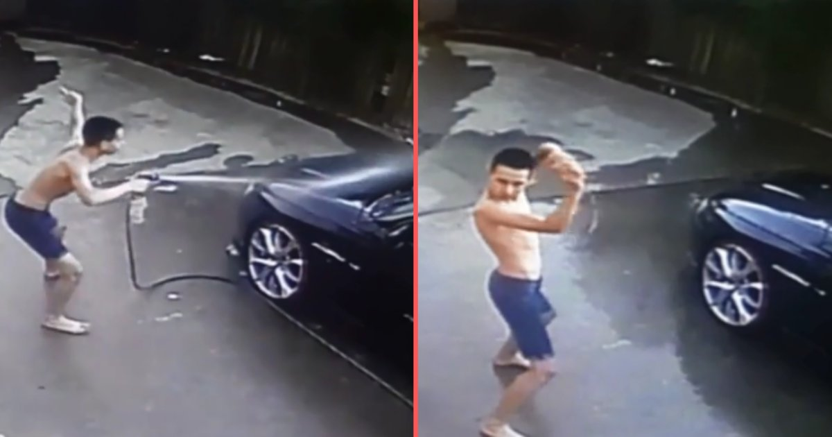 untitled design 1 13.png?resize=1200,630 - Teenager Caught Dancing Hilariously While Washing His Father's Car