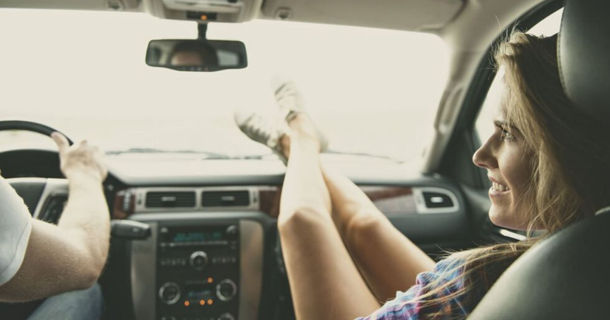 untitled design 37 2.png?resize=1200,630 - Young Woman Left With Broken Hips After Placing Her Feet On Car Dashboard