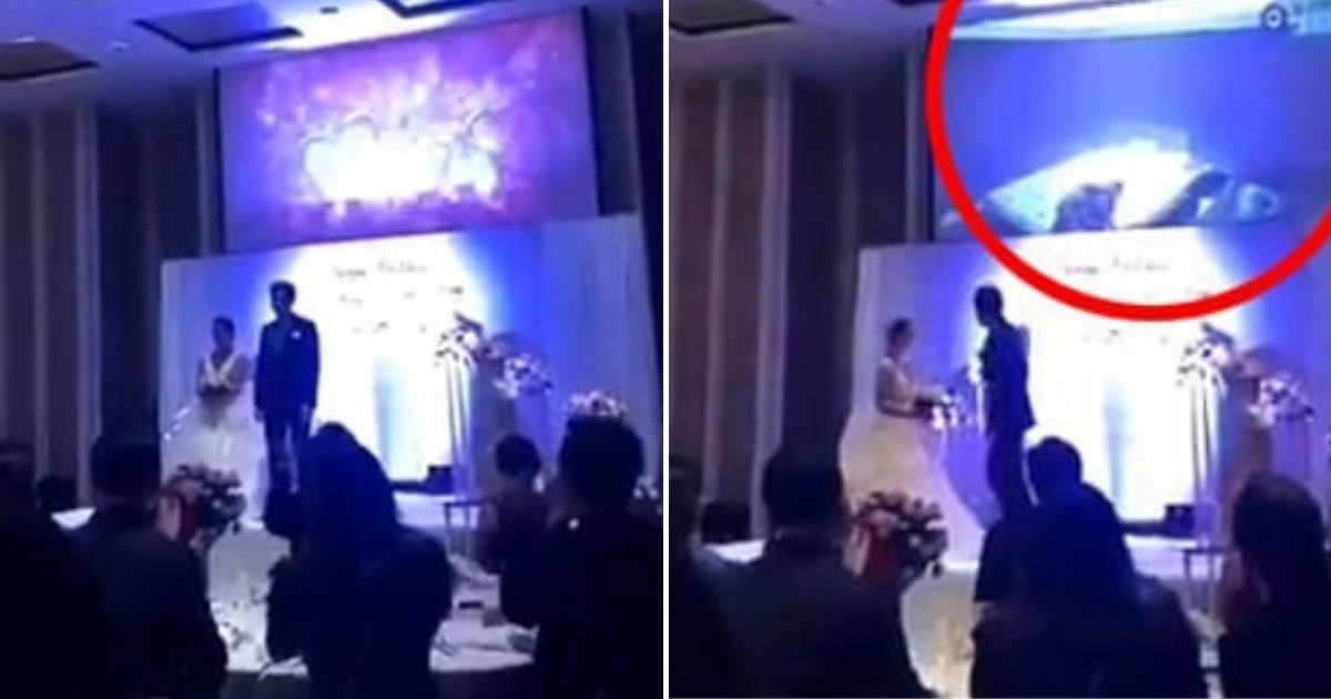Groom Plays Video Of Cheating Bride Naked In Bed With