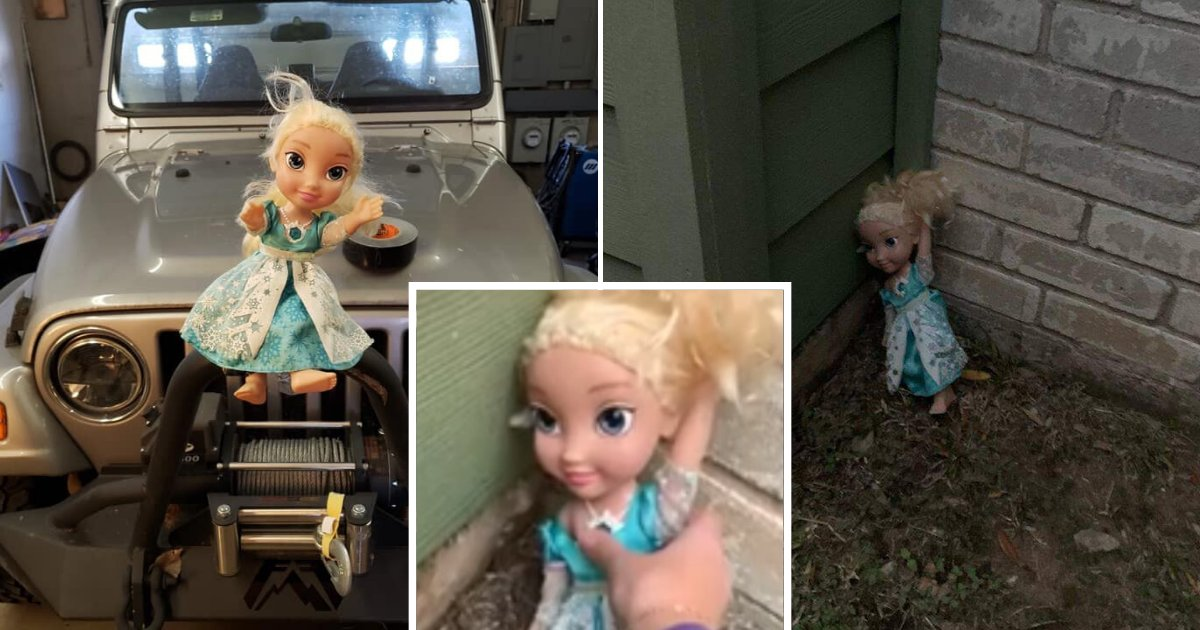 untitled design 41 1.png?resize=1200,630 - Family Said Their 'Haunted' Elsa Doll Returned Home Each Time They Threw It Away
