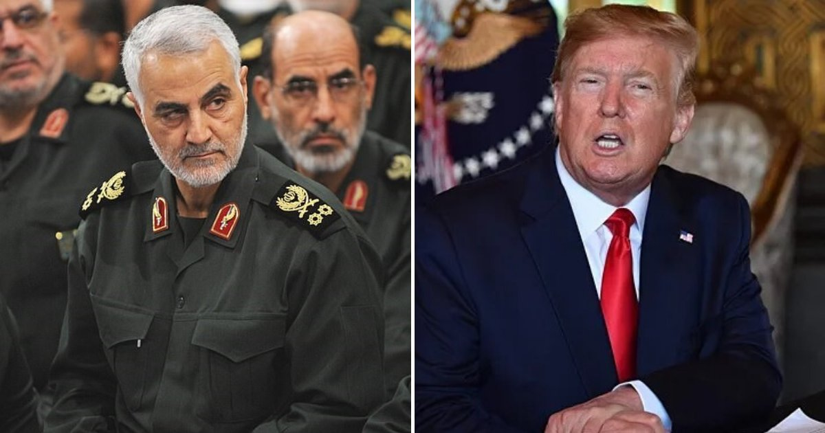 untitled design 49.png?resize=1200,630 - Iran Promised 'Crushing Revenge' Against The US After Trump's Airstrike On Top General