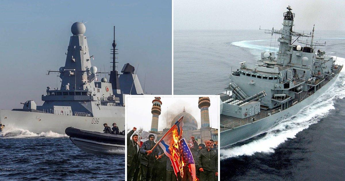 untitled design 64.png?resize=412,275 - Le Royaume-Uni a déployé des navires de guerre et des centaines de soldats en réponse aux menaces de l'Iran