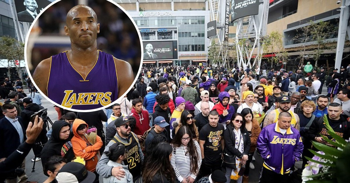 untitled design 66 2.png?resize=1200,630 - Thousands Gathered To Pay Their Respects To Kobe Bryant After He Died By His Daughter's Side