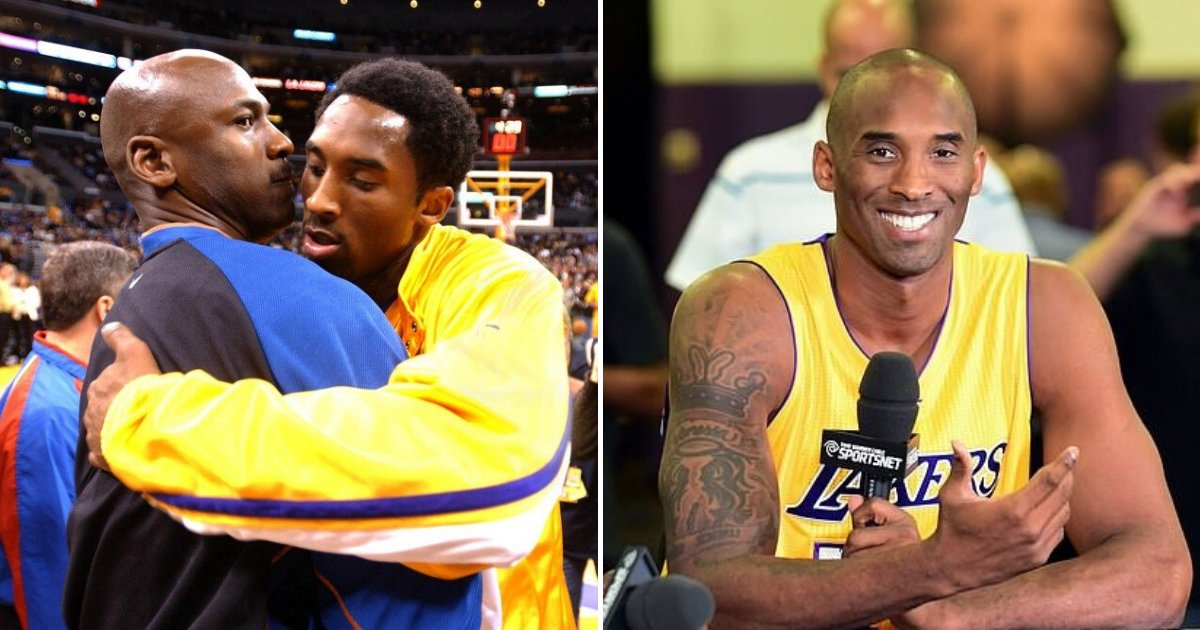 untitled design 71 2.png?resize=1200,630 - Michael Jordan Called Kobe Bryant His 'Little Brother' In Touching Tribute