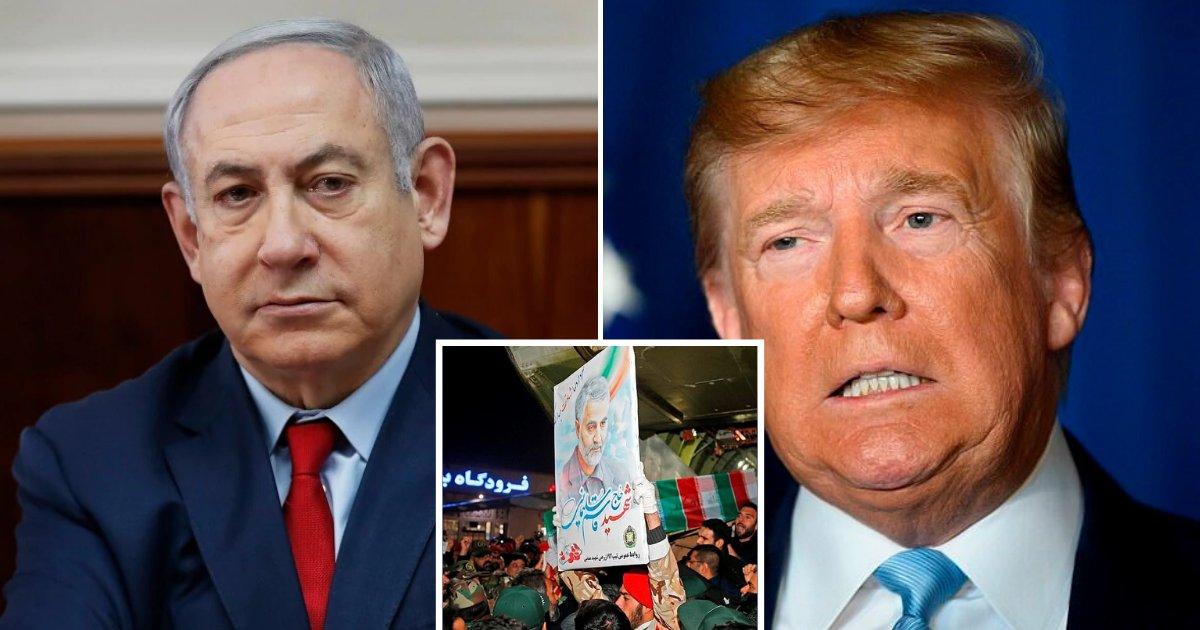 untitled design 76.png?resize=1200,630 - Israeli Prime Minister Applauded Trump For Striking Iranian Terror Chief Qassem Soleimani