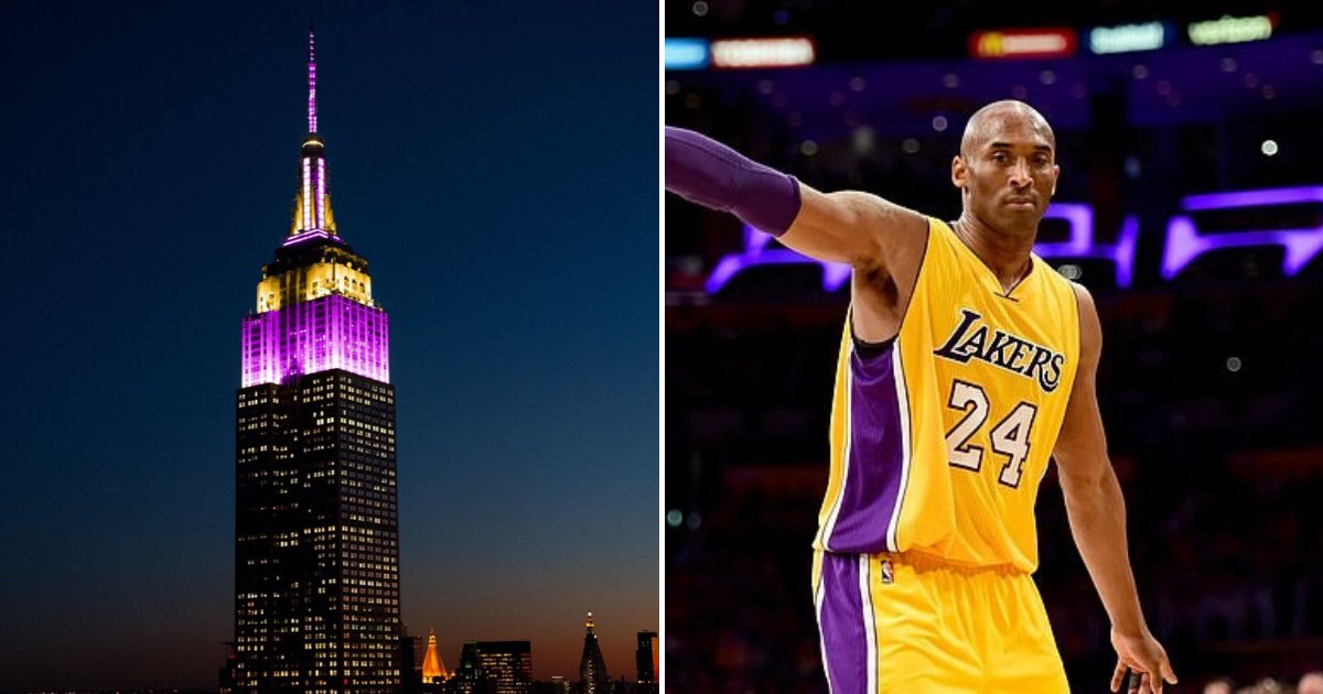 untitled design 80 2.png?resize=1200,630 - Empire State Building Lit Up In Lakers' Colors In Tribute Of NBA Legend Kobe Bryant