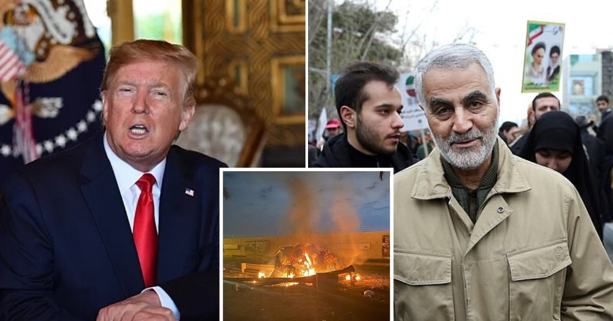 untitled design 80.png?resize=1200,630 - The Majority Of Americans Approve Of Trump's Airstrike On Soleimani According To Poll Results