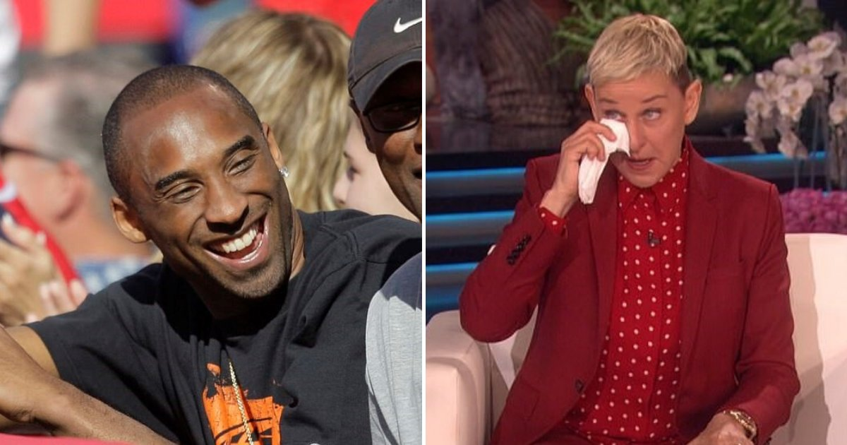 untitled design 82 2.png?resize=1200,630 - Ellen DeGeneres Broke Into Tears As She Opened Up About The Death Of Kobe Bryant
