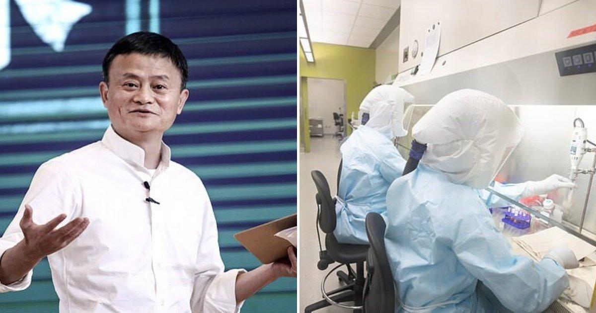 untitled design 92 1.png?resize=1200,630 - Alibaba Founder And Billionaire Jack Ma Donated Millions Towards Coronavirus Vaccine Development