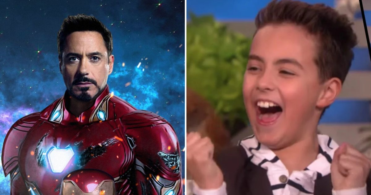 vincent5.png?resize=412,232 - Robert Downey Jr. Surprised A Young Boy Whose Life Was Completely Changed By Iron Man