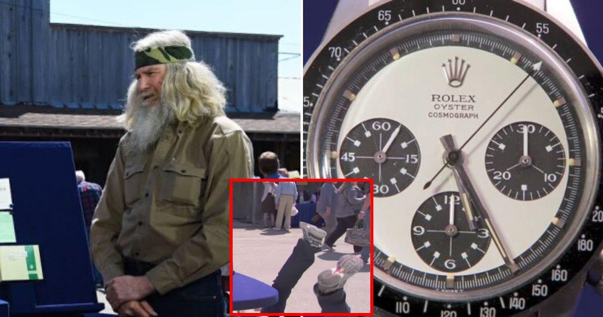 watch5.png?resize=412,232 - Un homme s'effondre en direct après qu'on lui a révélé la valeur réelle de sa montre à 275 €