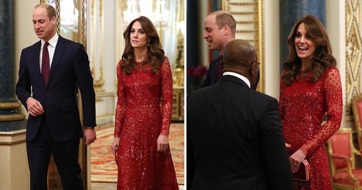 whatsapp image 2020 01 21 at 8 26 52 pm.jpeg?resize=1200,630 - Kate Middleton Dressed In Red Needle And Threads Sequin Apparel Backing Prince William Along With Senior Royals At Uk-africa Summit Right After Mexit