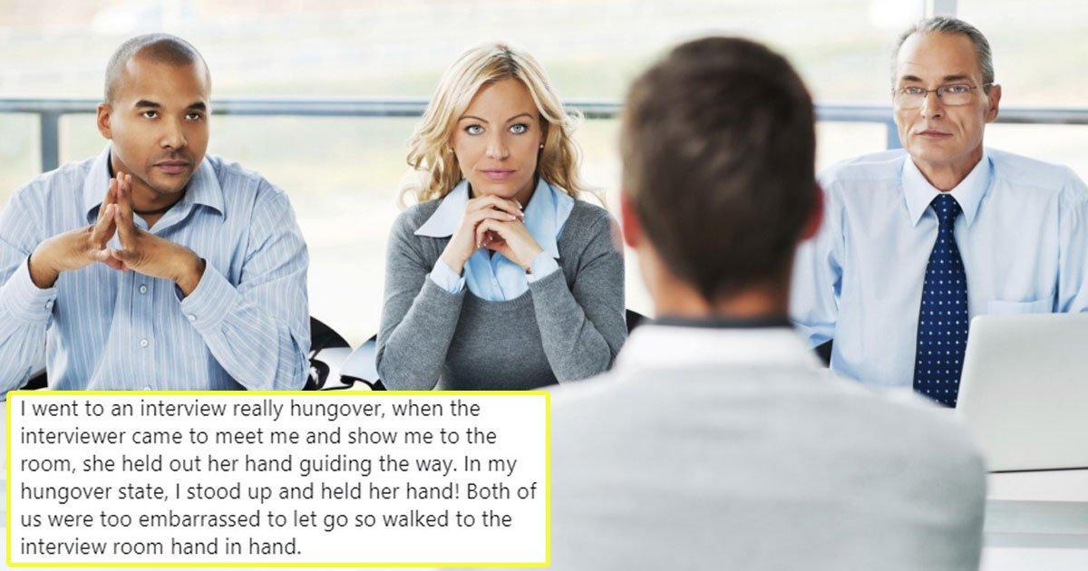 worst job interview stories.jpg?resize=1200,630 - Worst Job Interview Stories That Will Make You Laugh