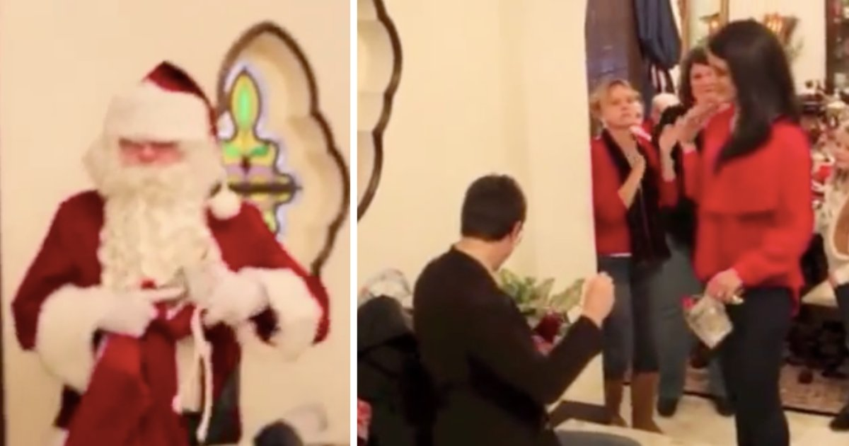 y1.png?resize=1200,630 - Man Makes Perfect Marriage Proposal With The Help Of Santa