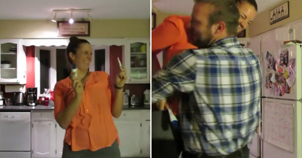 1 1.png?resize=1200,630 - Wife Surprises With Pregnancy Announcement and Tricks Husband