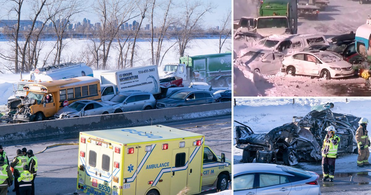 1 229.jpg?resize=412,232 - Massive 200 Cars Piled Up On A Highway Caused By A Blizzard