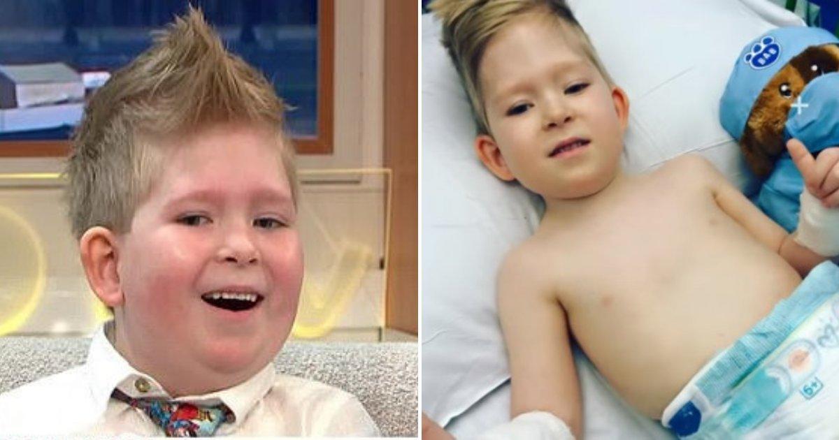 1 237.jpg?resize=1200,630 - Niño MILAGRO De 6 Años Desafió Todas Las Probabilidades Después De Haber Nacido Sin Cerebro