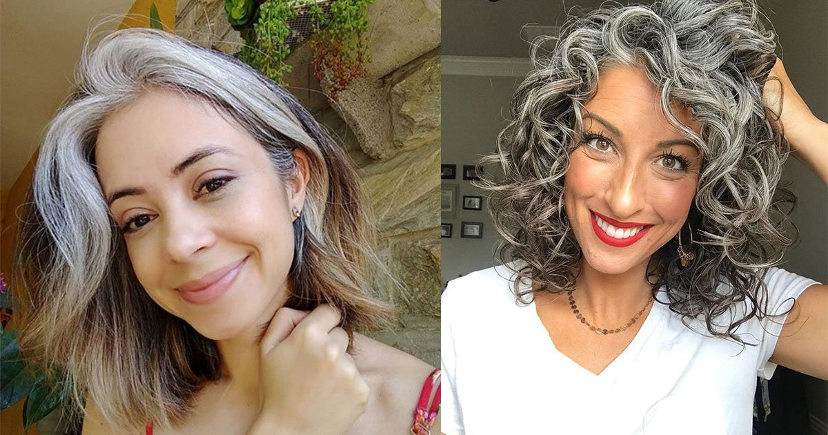 10 women who refused to hide their grey hair as they are brave enough to love themselves.jpg?resize=412,232 - 10 femmes qui ont refusé de cacher leurs cheveux gris