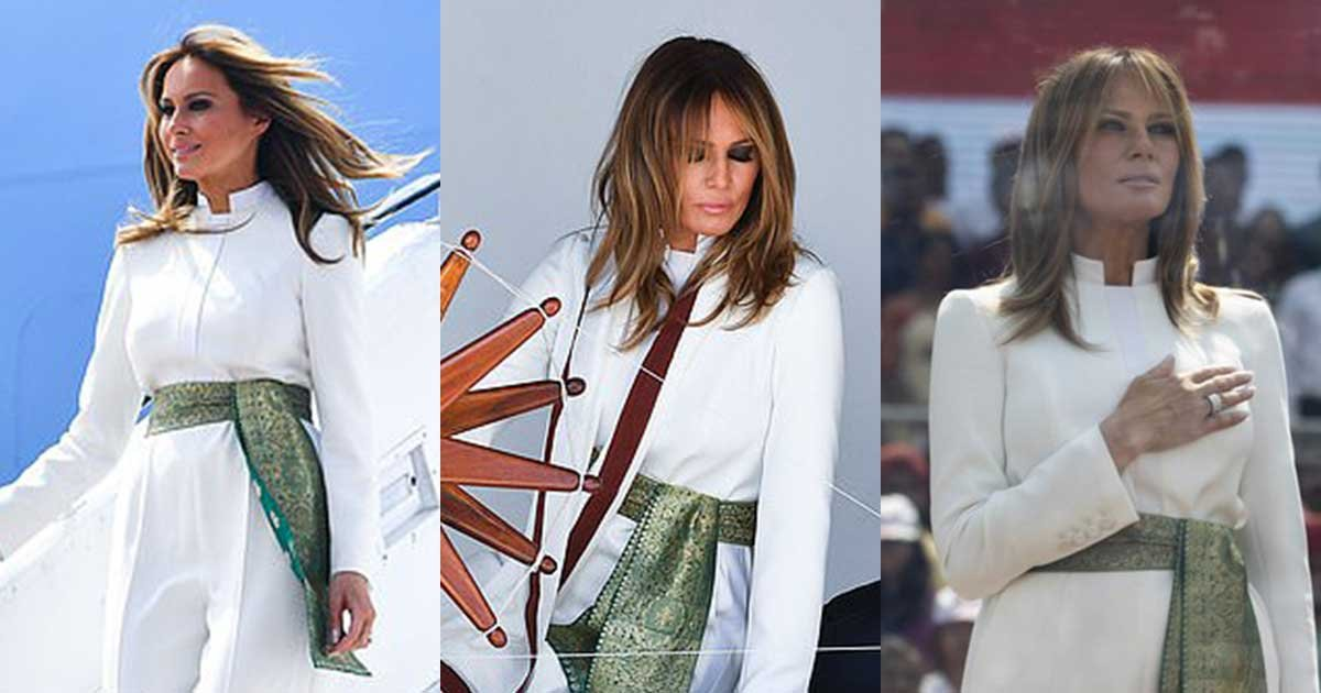 11 77.jpg?resize=1200,630 - Melania Trump Stuns Everyone With Her Stylish White Outfit