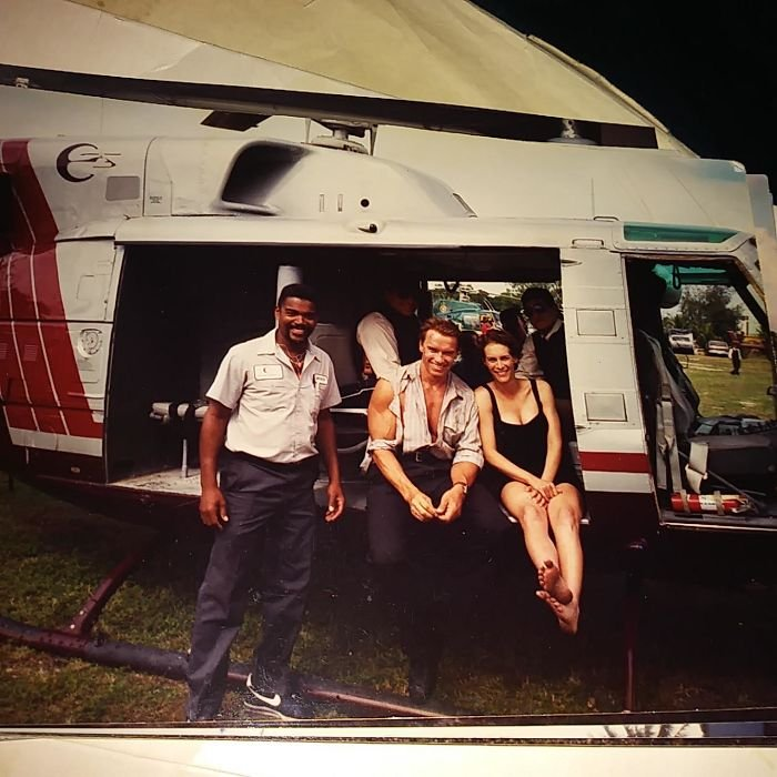 My Stepdad Did The All The Flight Rigging For Jamie Lee Curtis In True Lies. He